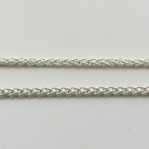 Silver Wheat Chains 035 Gauge - 1.5mm Wide