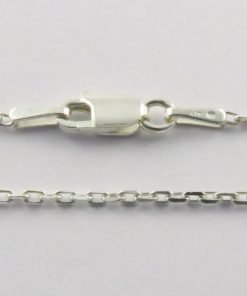 Silver Forzantina Chains 040 Gauge - 1.4mm Wide