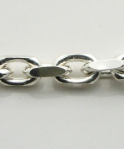 Silver Anchor Chains 200 Gauge - 5.5mm Wide (Square)