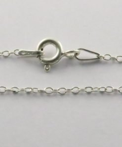 Silver Rolo Chains 025 Gauge -1mm Wide (Oval)