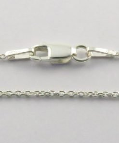 Silver Rolo Chains 030 Gauge -1.2mm Wide (Oval)