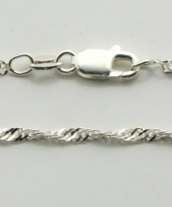 Silver Singapore Chains 030 Gauge - 1.9mm Wide