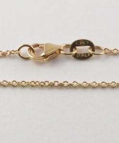 9ct Rose Gold Rolo Chains 030 Gauge - 1.3mm Wide
