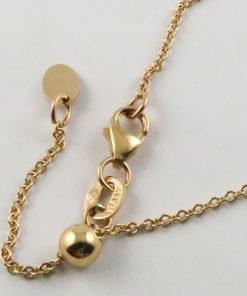 18ct Rose Gold Rolo Belcher Chains 030 Gauge - 1.3mm Wide (Slider/Adjuster)