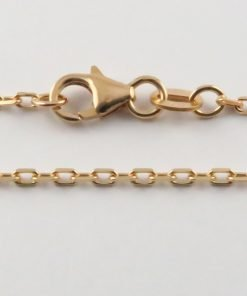 9ct Rose Gold Anchor Chains 050 Gauge - 1.6mm Wide