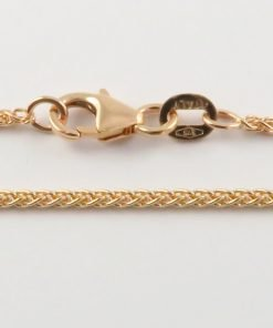 9ct Rose Gold Wheat Chains 032 Gauge - 1.5mm Wide