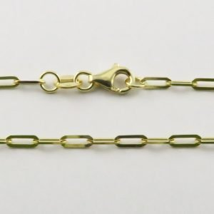 9ct Yellow Gold Stamped Anchor Chains