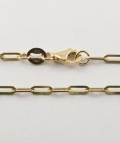 9ct Rose Gold Stamped Anchor Chains
