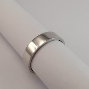Silver Rings - 5mm Flat Band