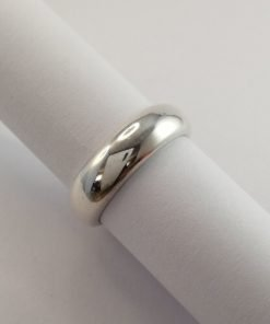 Silver Rings - 5.5mm Halfround Band
