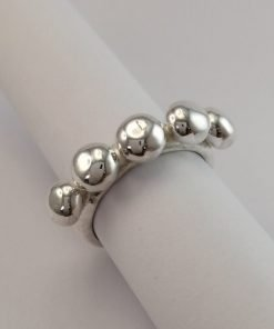 Silver Rings - 6mm Bobble