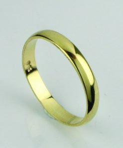 9ct-gold-3mm-d-shaped-wedding-band