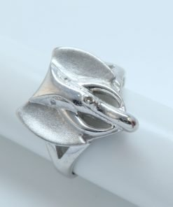 Silver Rings - 18mm Elephant
