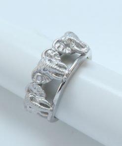 Silver Rings - 9mm Elephant