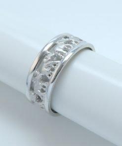 Silver Rings - 7mm Elephant Eternity