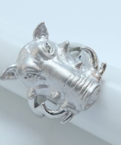 Silver Rings - 20mm Warthog