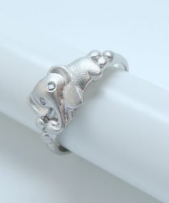 Silver Rings - 8mm Elephant