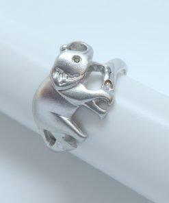 Silver Rings - 12mm Elephant